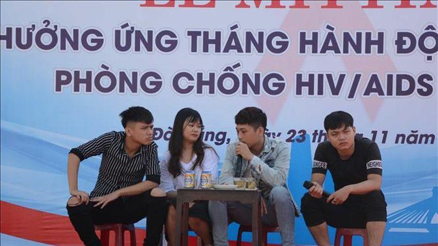 Đà Nẵng mít tinh hưởng ứng Tháng hành động phòng chống HIV/AIDS