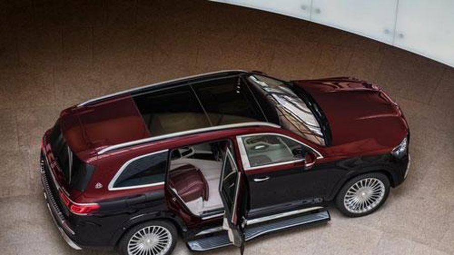 Mercedes-Benz GLS 600 Maybach 2021, đối thủ xứng tầm của Bentley Bentayga