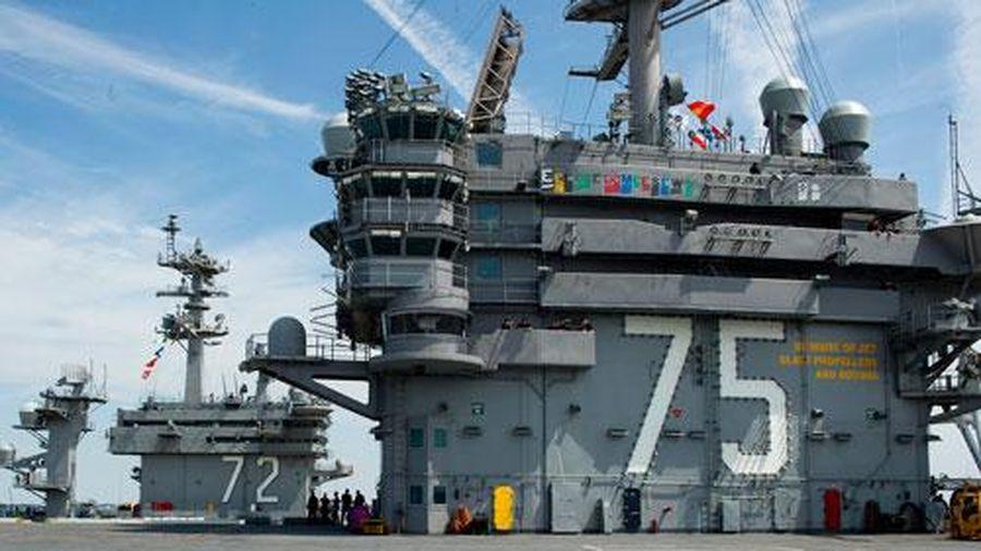 Tàu sân bay 4,5 tỷ USD sửa xong, hải quân Mỹ thêm phần hoành tráng