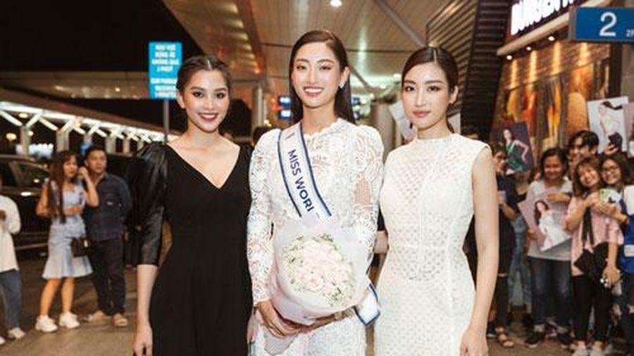 Hoa hậu Lương Thùy Linh chính thức lên đường sang Anh dự thi Miss World 2019