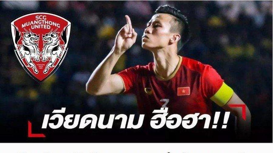 Đội bóng Thái Lan muốn chiêu mộ 'đá tảng' của tuyển Việt Nam