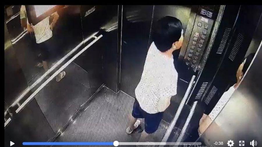 Cộng đồng mạng dậy sóng người 'tè' bậy trong thang máy