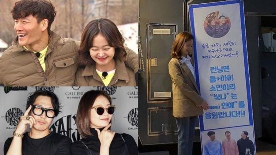 Đây là cách các đàn anh Running Man chăm sóc cho cô em Jun Somin!