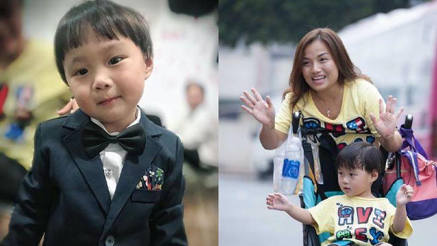 Lần đầu về Việt Nam, bé Sa diện vest 'cực bảnh' với loạt biểu cảm siêu đáng yêu