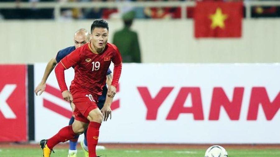 Quang Hải chơi tệ nhất trong cả hai trận Việt Nam hòa Thái Lan