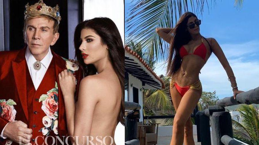 Phù thủy sắc đẹp Venezuela gửi đóa hồng gai 'sắc lẹm' đến Việt Nam thi Miss Charm International 2020