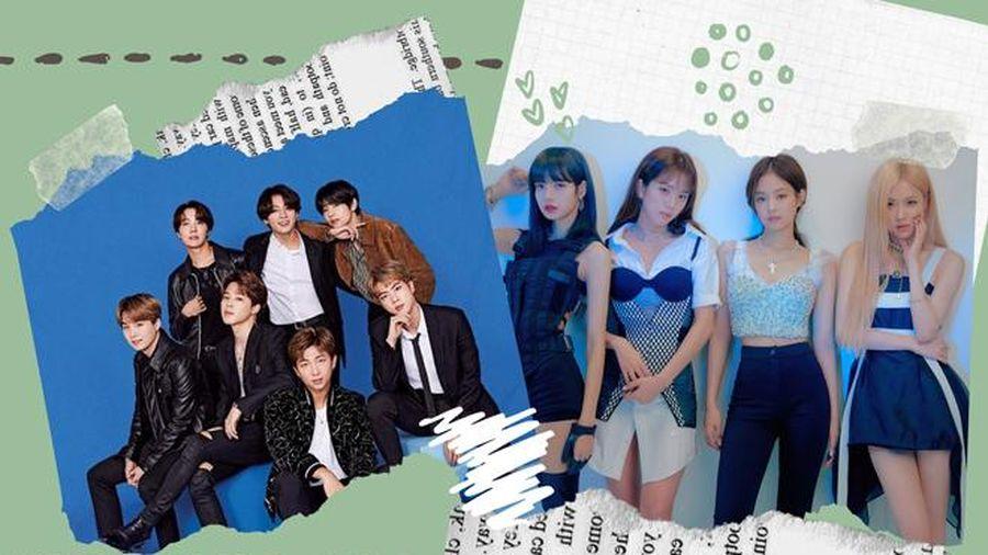 BXH thương hiệu nhóm nhạc KPop tháng 11/2019: Vị trí BTS không đổi, BlackPink quay trở lại top 3