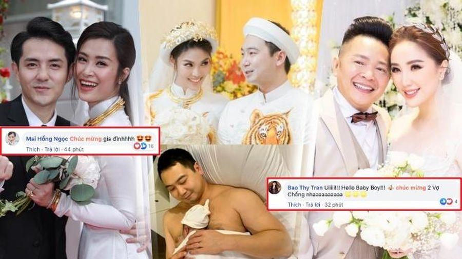 Chúc mừng Lan Khuê sinh quý tử, Đông Nhi - Bảo Thy được fan hỏi dồn: 'Bao giờ có tin vui?'