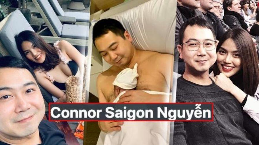 Lan Khuê - John Tuấn đặt tên ý nghĩa cho con trai cưng khiến fan thích thú: Connor Sài Gòn Nguyễn?