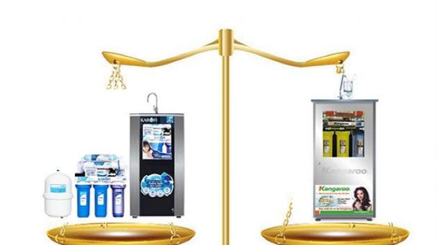 Giải đáp: nên mua máy lọc nước Kangaroo hay Karofi?