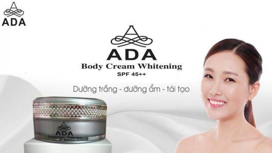 Kem dưỡng trắng da ADA Body Cream Whitening thách thức mọi làn da