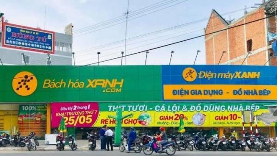 MWG: Doanh thu 10 tháng tăng 17%, dự kiến vận hành 1.000 siêu thị Bách hóa Xanh vào tháng 12