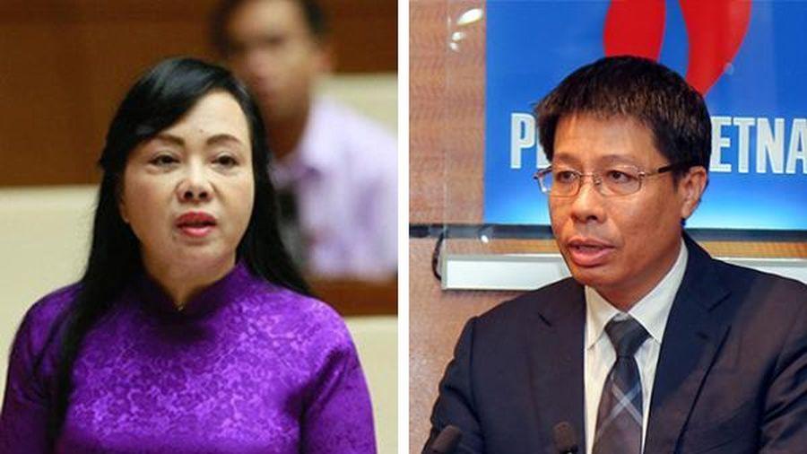 Nhân sự tuần qua: Bà Nguyễn Thị Kim Tiến thôi giữ chức Bộ trưởng Y tế, PVN có tân Phó Tổng giám đốc