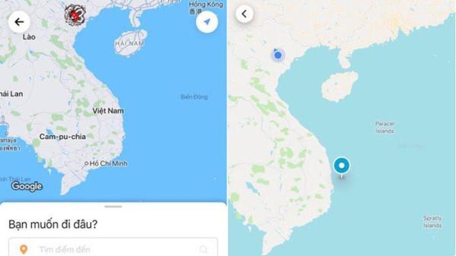 Hoàng Sa, Trường Sa biến mất khỏi bản đồ trên ứng dụng: Go-Viet nói gì?