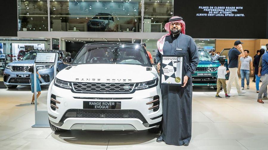 Range Rover Evoque giành giải chiếc SUV được phái đẹp yêu thích nhất năm