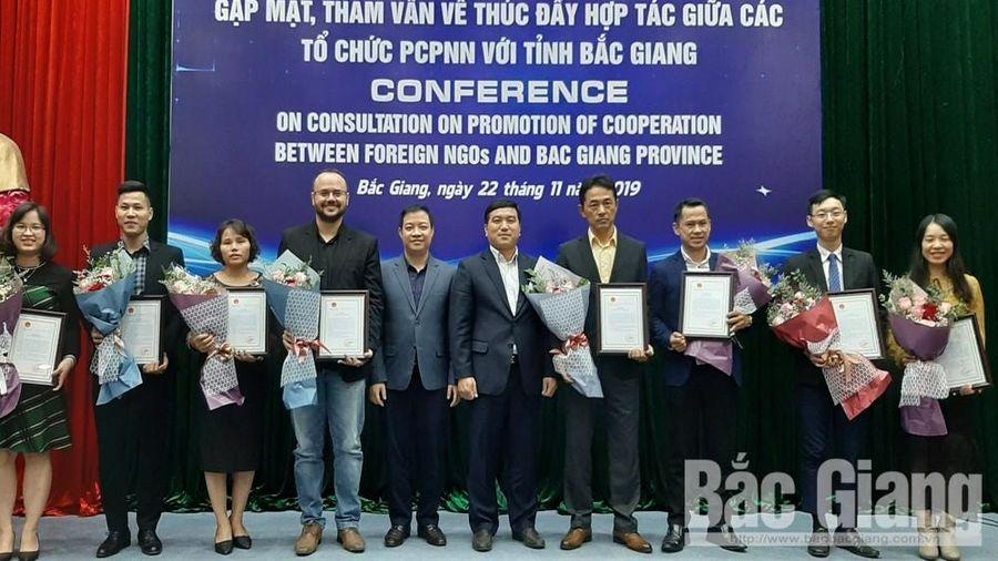 Phi chính phủ nước ngoài đang triển khai 14 dự án tại Bắc Giang