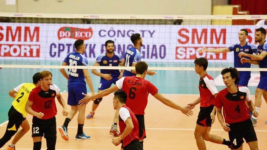 Lịch thi đấu bóng chuyền nam tại SEA Games 30