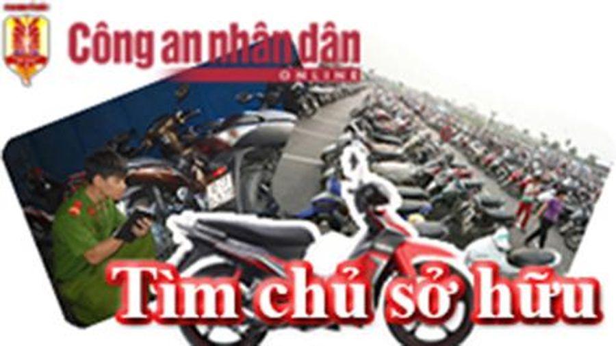 Công an TP Hà Nội tìm chủ sở hữu xe máy