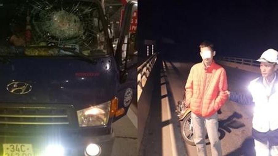 Bốn đối tượng rủ nhau ném đá xe ô tô trên cao tốc Hạ Long – Vân Đồn