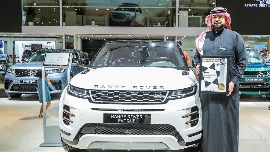 Range Rover Evoque giành giải thưởng Mẫu SUV Crossover của năm