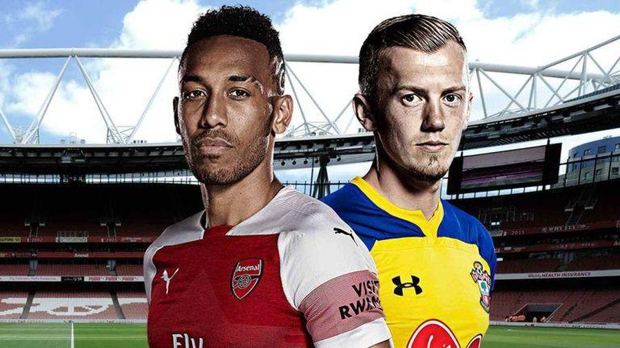 Vòng 13 Premier League: Đội hình dự kiến trận Arsenal - Southampton