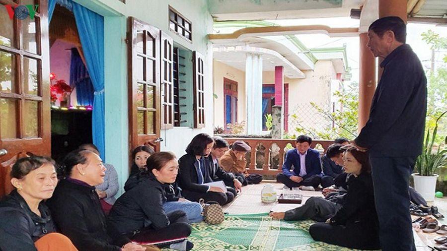 Quảng Bình hỗ trợ các gia đình nạn nhân vụ cháy tàu cá ở Hàn Quốc