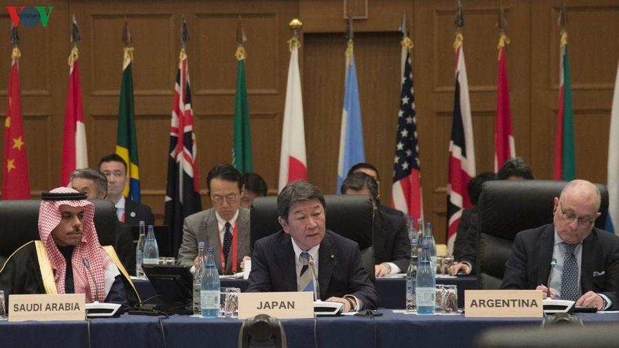 Hội nghị Ngoại trưởng G20 thúc đẩy thương mại tự do và công bằng