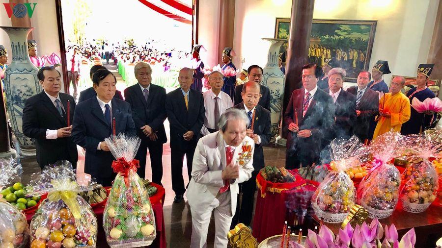 Lễ giỗ lần thứ 90 cụ Phó Bảng Nguyễn Sinh Sắc, thân sinh Chủ tịch HCM
