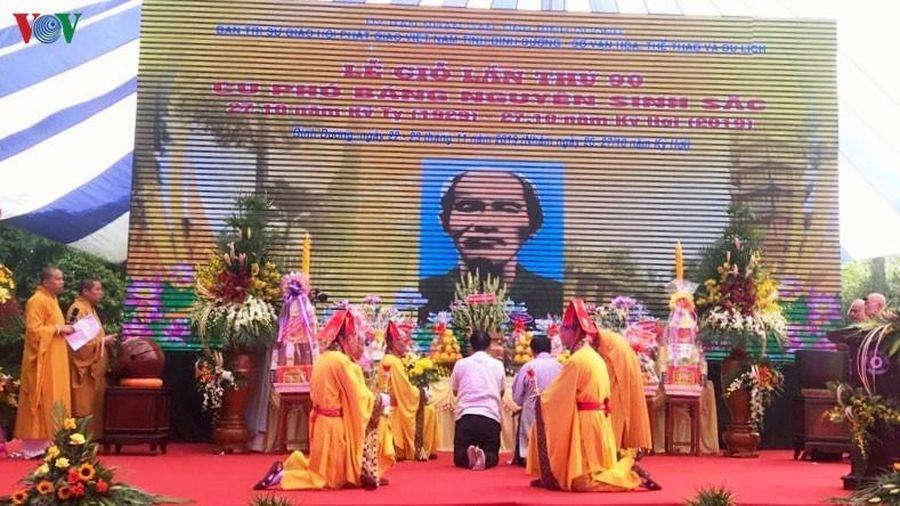Bình Dương sẽ xây dựng khu lưu niệm cụ Phó bảng Nguyễn Sinh Sắc