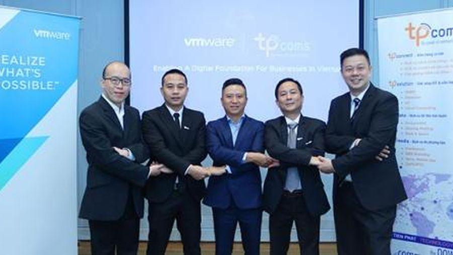 VMware bắt tay Tpcoms tấn công thị trường chuyển đổi số