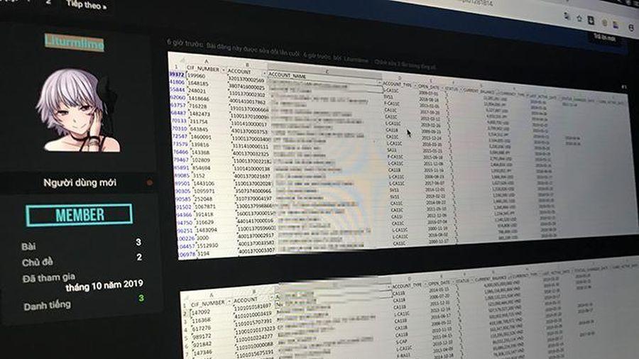 Nghi vấn lộ thông tin tài khoản ngân hàng MSB: Hacker tung thêm danh sách số dư tài khoản