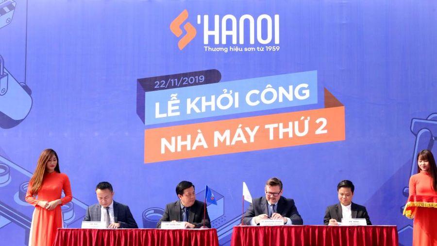 Sơn Hà Nội khởi công nhà máy thứ hai tại Hưng Yên