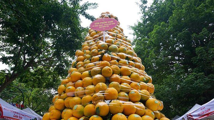 Nhiều nhà vườn 'cháy hàng' trong ngày đầu diễn ra phiên chợ cam Hưng Yên