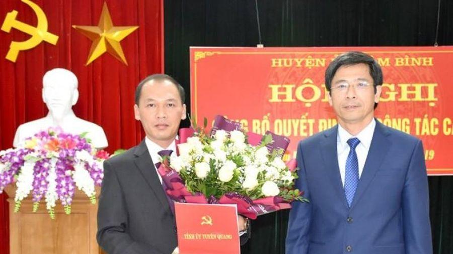 Ông Nguyễn Văn Dưng giữ chức Bí thư Huyện ủy Lâm Bình