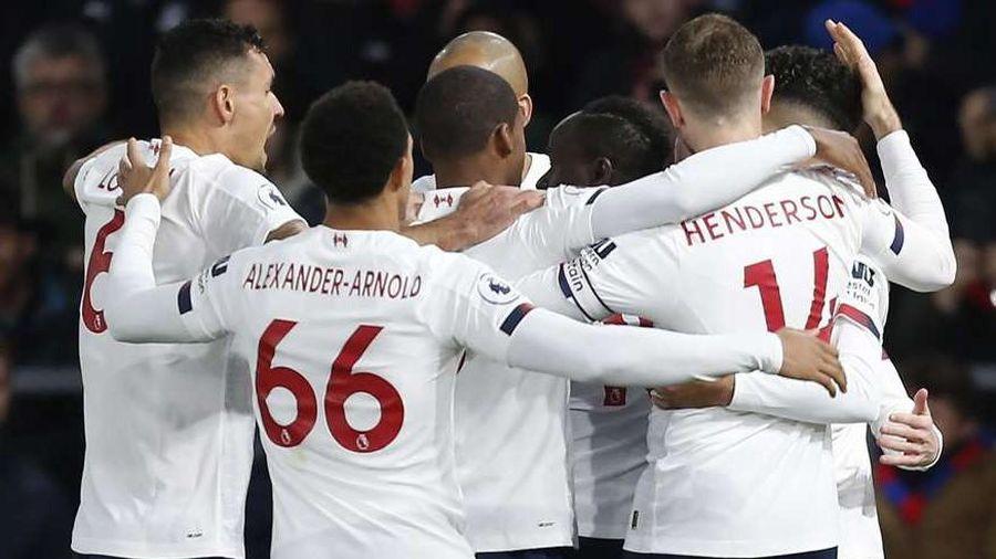 'Đã hay lại còn may', Liverpool đánh bại Crystal Palace và tiếp tục 'một mình một ngựa' trong cuộc đua vô địch