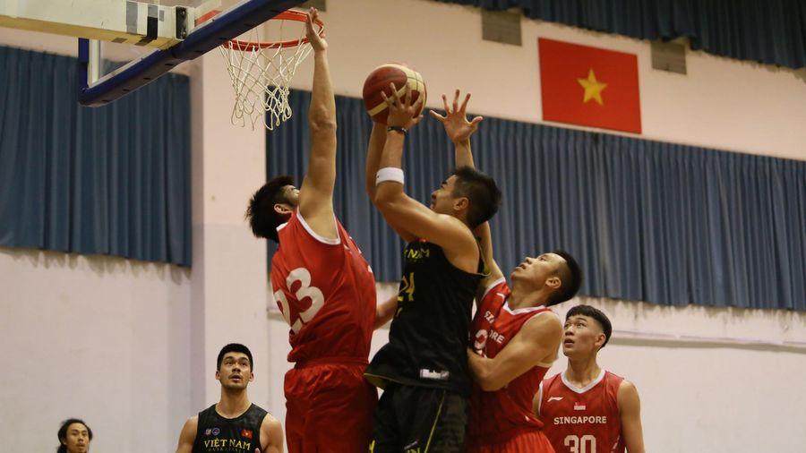 Đội tuyển Việt Nam vượt qua cuộc lội ngược dòng của Singapore trong trận giao hữu tiền SEA Games 30