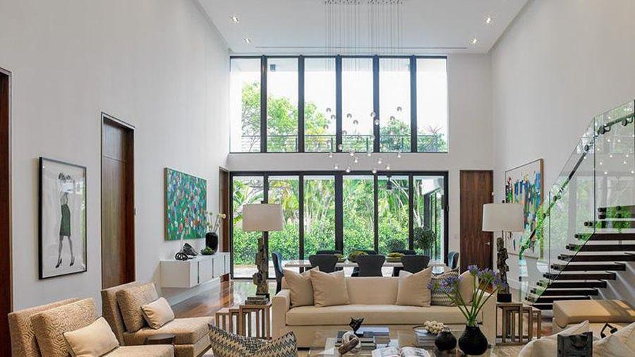 Thiết kế nhà khắc phục điểm yếu là trần cao - tưởng khó mà dễ vô cùng