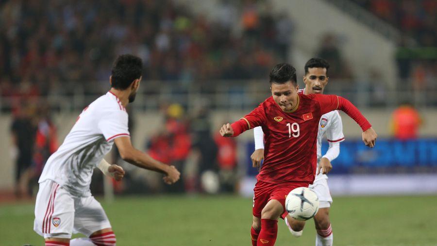 Đội trưởng Quang Hải có thể không đá trận ra quân gặp Brunei