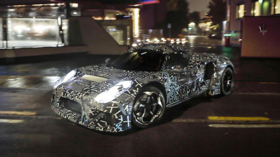 Maserati tiết lộ mẫu xe mới bí ẩn
