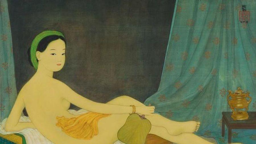 Tranh cô gái khỏa thân của Mai Trung Thứ bán gần nửa triệu USD