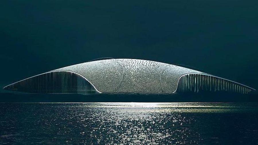 Tòa nhà hình cá voi dành riêng cho sinh vật huyền thoại