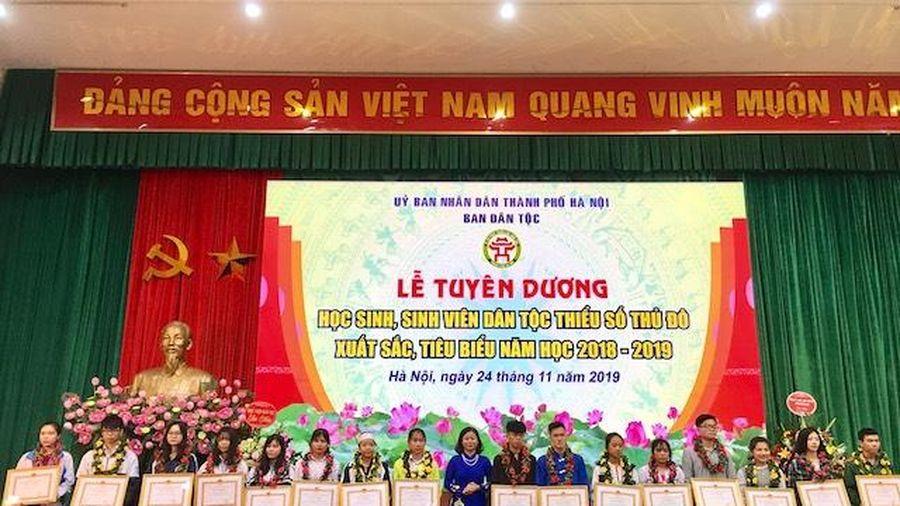 Tuyên dương 117 học sinh, sinh viên dân tộc thiểu số Thủ đô xuất sắc, tiêu biểu