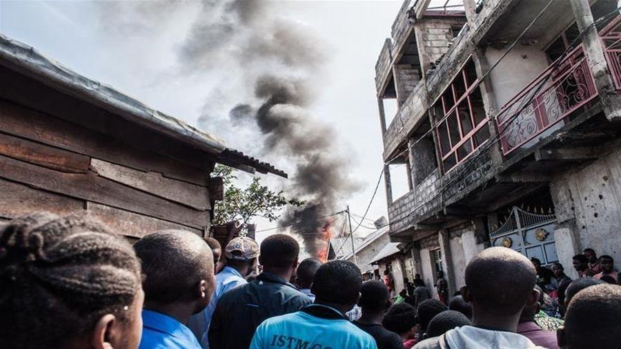 Rơi máy bay khiến ít nhất 18 người thiệt mạng ở Congo