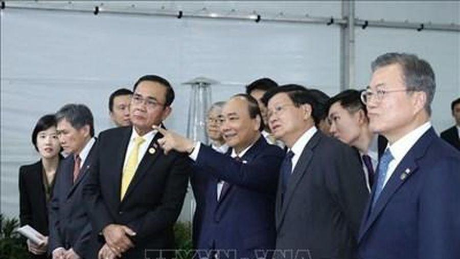 Thủ tướng Nguyễn Xuân Phúc dự Lễ động thổ xây dựng thành phố thông minh Eco-Delta
