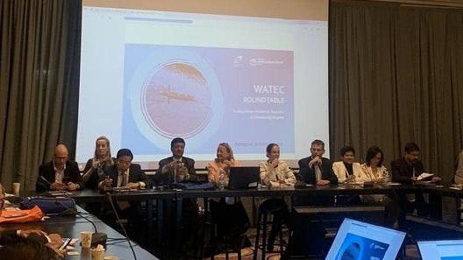 Doanh nghiệp Việt Nam tham dự Hội nghị và Triển lãm công nghệ nước và kiểm soát môi trường lần thứ 8 trên thế giới (WATEC ISRAEL 2019