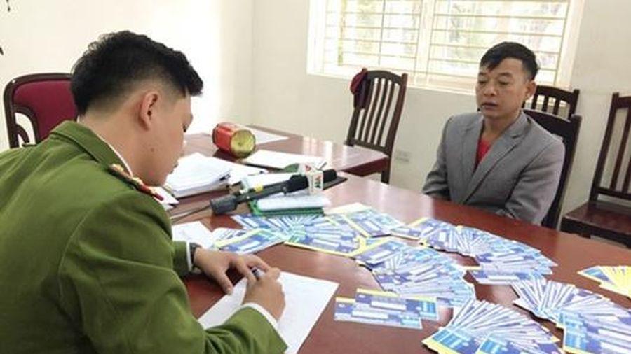 Khởi tố, bắt tạm giam 3 bị can vụ làm vé giả trận Việt Nam - Thái Lan