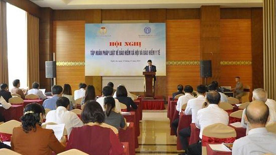 Hội Luật gia Việt Nam tổ chức tập huấn pháp luật về BHXH và BHYT