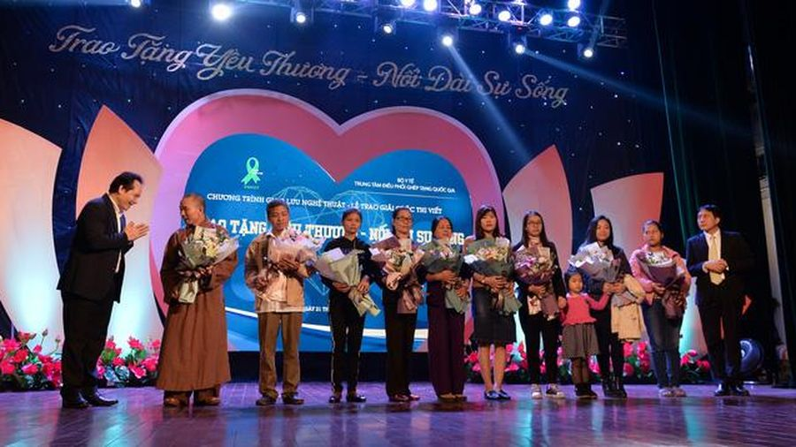 10 tháng đầu năm, có hơn 10.000 người tham gia đăng ký hiến tặng mô tạng