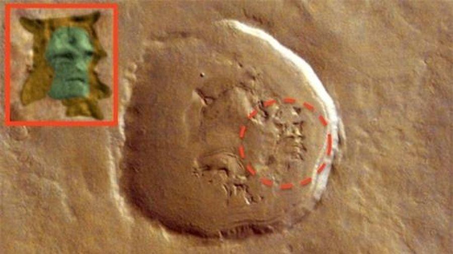Phát hiện dấu ấn gương mặt người ngoài hành tinh trên sao Hỏa