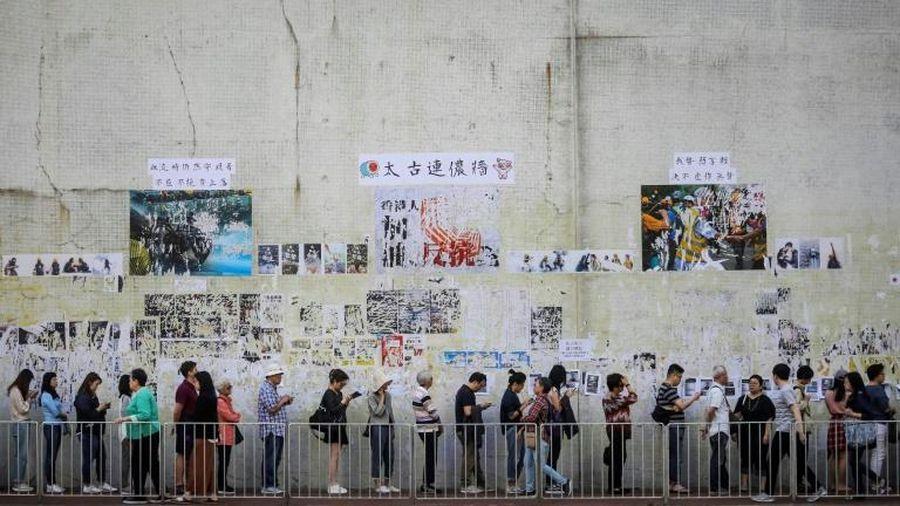 Bầu cử hội đồng địa phương Hongkong: Số cử tri đi bỏ phiếu tăng kỷ lục
